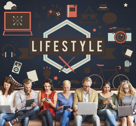 Lifestyle Fitness Lifestyle Hipster Concept