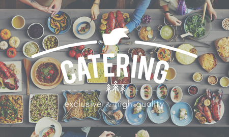 kulinarne: Kuchnia Kulinaria Catering w formie bufetu posiłek Concept