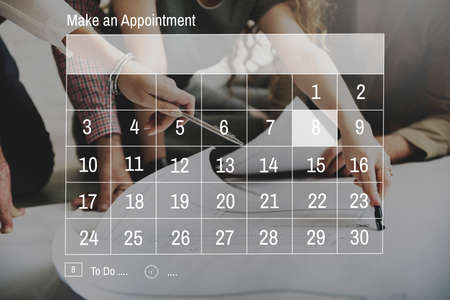 appointment: Calendar Appointment Schedule Memo Organize Concept
