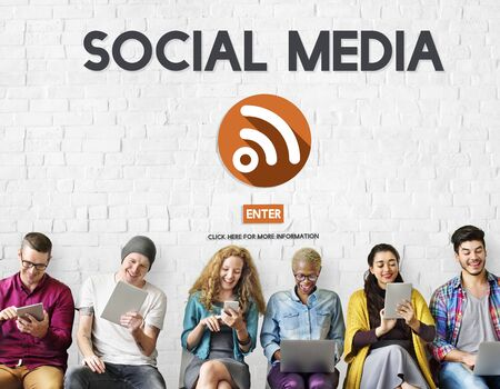Social Media Communication Community Sharing Concept