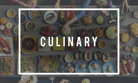 kulinarne: Cooking Class Cuisine Culinary Catering Chefs Concept