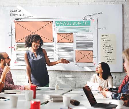 Design Magazine creatività layout Media Concept pubblicazione