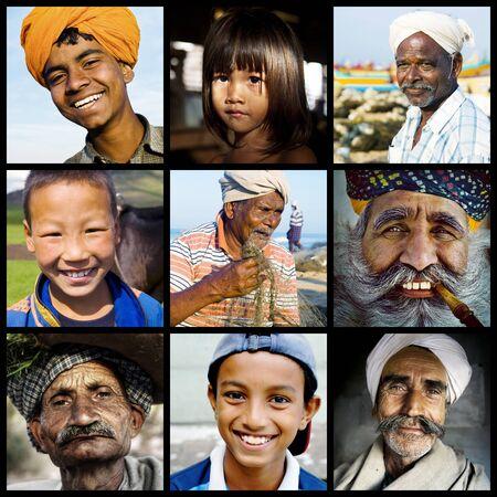 niños de diferentes razas: Diversa concepto de diversidad Etnia Etnia
