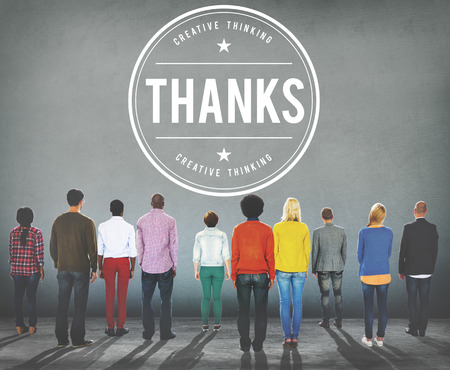 thankfulness: Thanks Appreciation Gratefulness Thankfulness Concept
