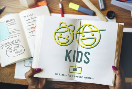 hijos: Kids Children Offspring Generation Life Concept