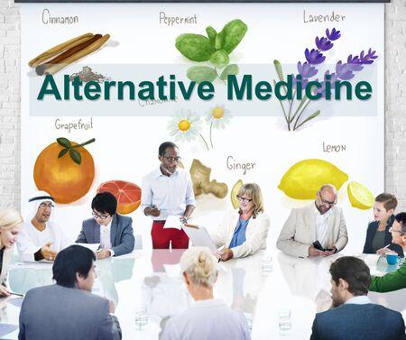 Alternative Medicine Health Herb Therapy Concept