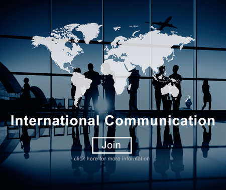 flight mode: International Communication Connection Networking Website Concept