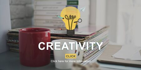 creativity: Creativity Ideas Inspire Innovation Concept