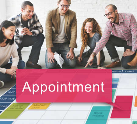 appointing: Appointment Schedule Meeting Plan Arrangement Concept