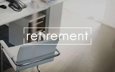 retire: Retirement Pension Retire Planning Savings Wealth Concept