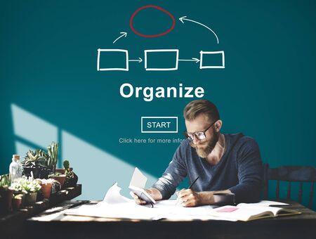 organigrama: Organigrama Corporativo Concepto de empresa