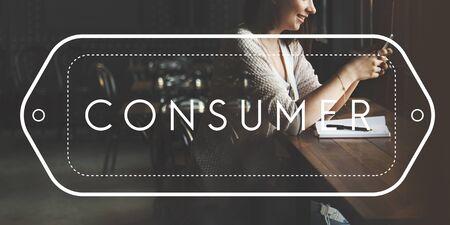 shopper: Consumer Customer Service Satisfaction Shopper Concept