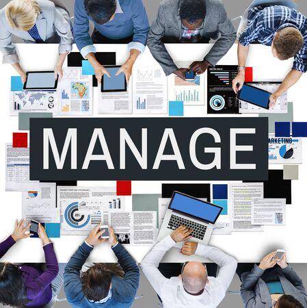 coordinacion: Administrar proceso de liderazgo Coordinación Concepto Estrategia Foto de archivo