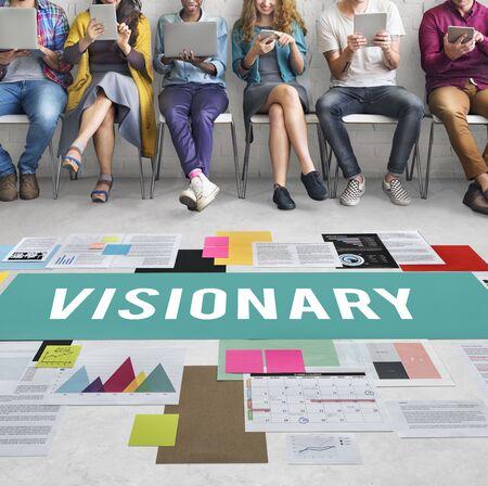 visionary: Visionary Aspirations Creativity Imagination Concept