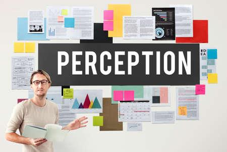 perception: Perception Insight Awareness Seeing Vision Brain Concept