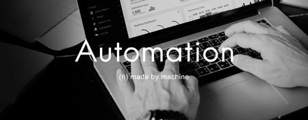 echnology: Automation Machine Technology Invention Innovation Concept