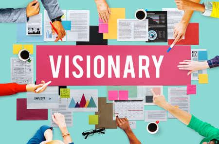 Las aspiraciones visionarias Concepto Creatividad Imaginación
