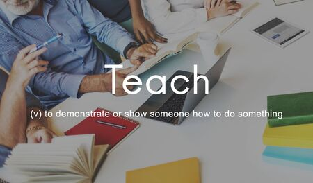 Teach Teaching Education Mentoring Coaching Training Concept