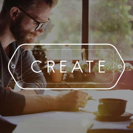 Create Make Innovate Plan Do Concept