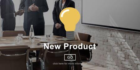 New Product Development Aktuelle moderne Konzept