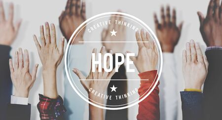hope: Hope Faith Motivation Positive Concept