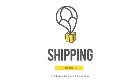 carrier: Shipping Carrier Freight Import Export Logistics Concept