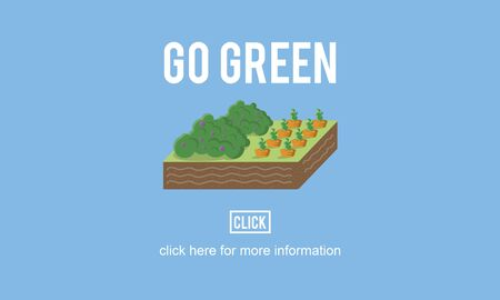 environmentalist: Go Green Think Conservation Environment Natural Concept