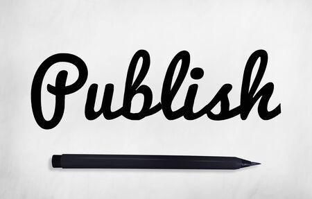 journalism: Publish Writing Editing Journalism Concept