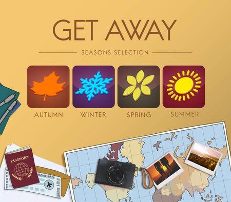 wanderlust: Adventure Exploration Journey Lifestyle Wanderlust Concept
