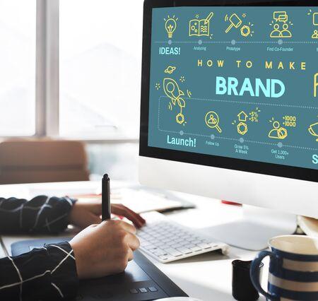 designer labels: Brand Branding Copyright Label Logo Marketing Concept