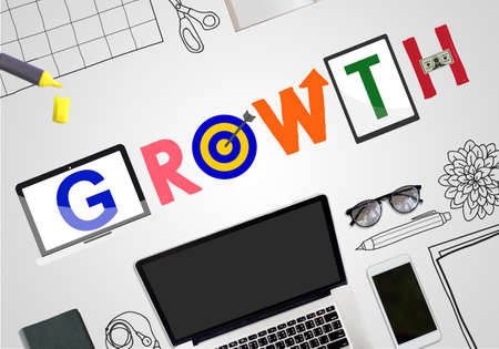 increasing: Growth Growing Motivation Success Increasing Concept Stock Photo