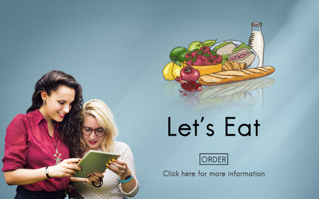 university students: Eat Eating Living Nutrition Dining Diet Food Concept