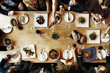 Cafe Business Collaboration Colleagues Success Concept