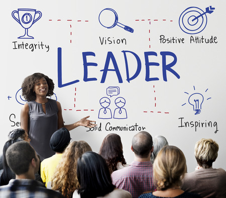 Leader Authority Boss Coach Director Manager Concept Stock Photo