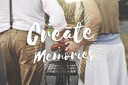 Create Memories Happiness Enjoyment Concept Stock Photo