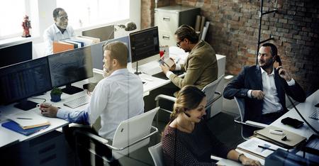 Geschäftsleute Treffen Diskussion Working Bürokonzept