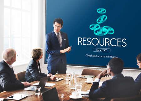 context: Resources Raw Material Environmental Context Concept Stock Photo