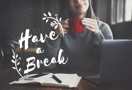 Break Holiday Vacation Relax Rest Concept 版權商用圖片