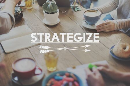 strategize: Strategize Target Mission Objective Graphics Concept