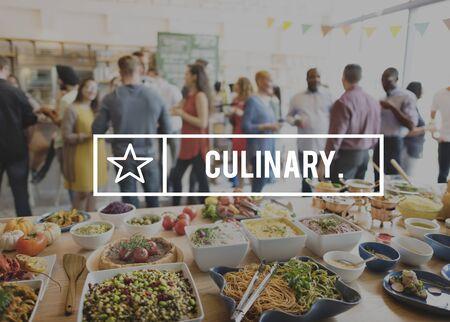 kulinarne: Cooking Class kuchnia kulinarne Catering Chefs Concept Zdjęcie Seryjne