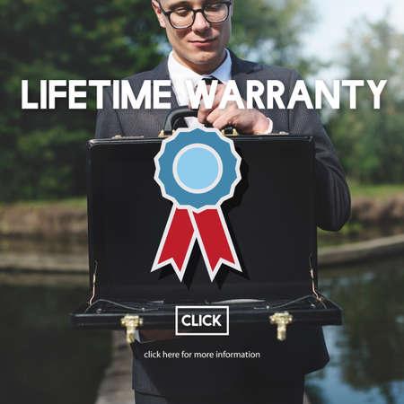 attache case: Lifetime Warranty Excellence Performance Product Concept