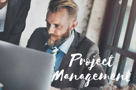 coordinacion: Project Management Business Coordination Concept
