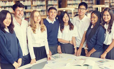 an understanding: Student Classmate Friends Understanding Study Concept
