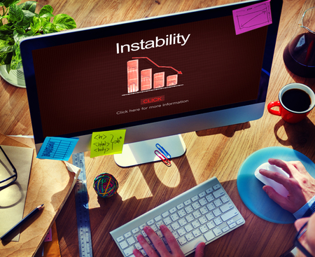 instability: Instability Collapse Depression Falling Frustration Concept