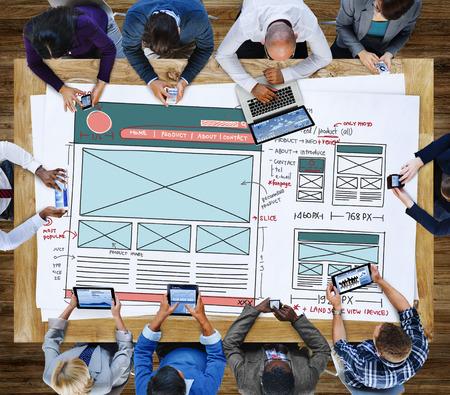 Framework: Design Graphic Framework Form Sketch Concept