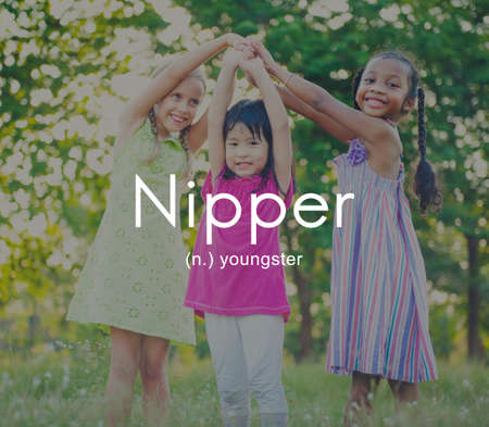 nipper: Nipper Youngster Children Kids Youth Concept Stock Photo