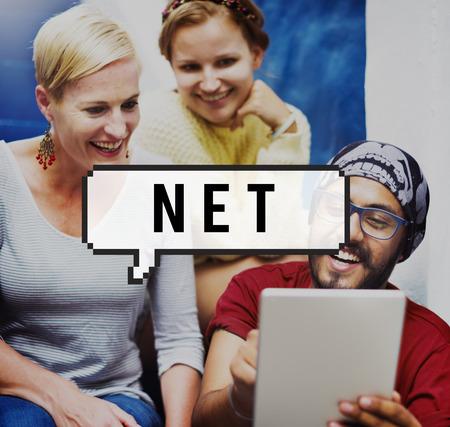 ganancias: Dominio de Internet Net Finanzas Ganancias concepto de red