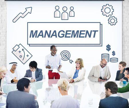 coordinacion: L�der de Negocios Gesti�n de Coordinaci�n concepto gr�fico