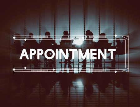 remind: Appointment Agenda Schedule Organization Remind Concept Stock Photo