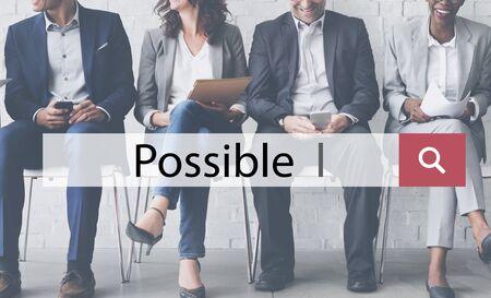 optimismo: La ambición posible Casualidad Esperanza Concepto Opción optimismo